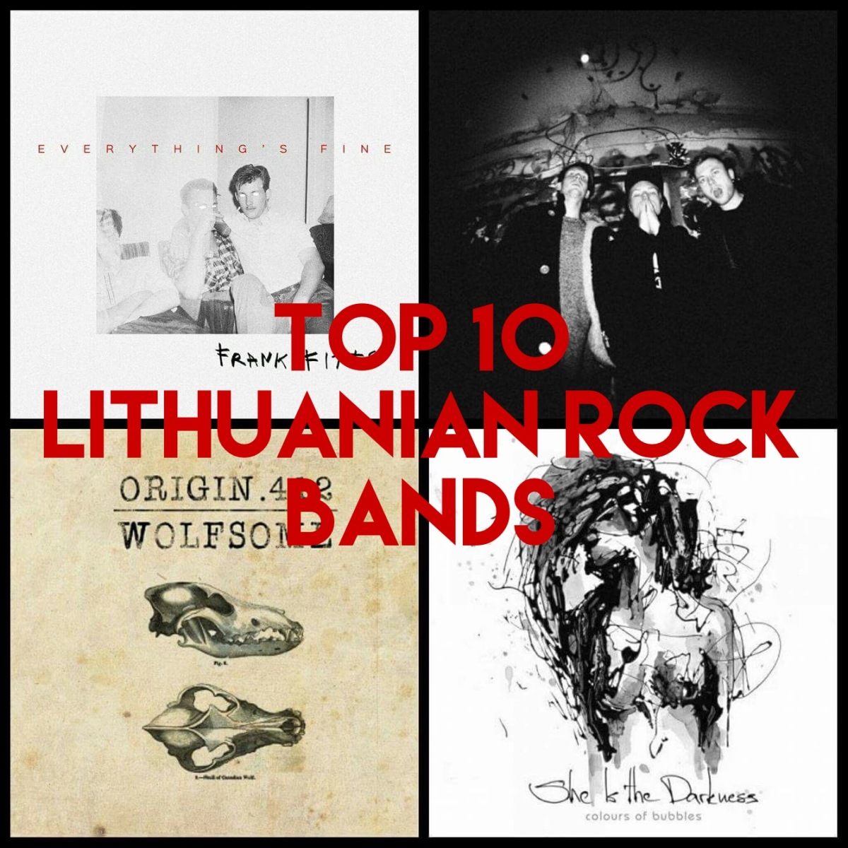 10 Amazing Rock bands from Lithuania (Part 1)